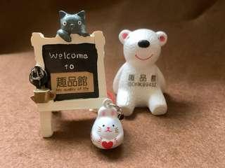 趣品館*L2407.幸福兔 造型鈴鐺公仔吊飾 造型手機鑰匙包包掛飾.嚴選創意生活禮品包材