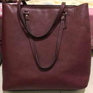Stradivarius shopping bag