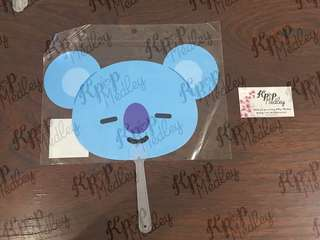 (On Hand) Official BT21 Fan - Koya