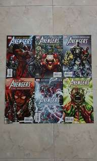 """Avengers: The Initiative (Marvel Comics 6 Issues; #14 to 19, complete story arc on """"Secret Invasion"""")"""
