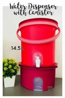 Water Dispenser With Canister