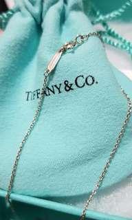 🚚 (正品) 便宜賣Tiffany 925純銀鍊 16吋(無墜飾)