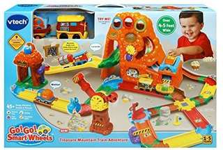 🚚 (Pre-Order)  VTech Go! Go! Smart Wheels Treasure Mountain Train Adventure