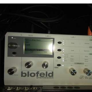 Waldorf Blofeld synth synthesizer