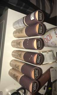 Burt's bees goodness glows foundations for sale brand new !