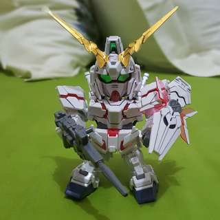 SD Gundam Unicorn Red Frame