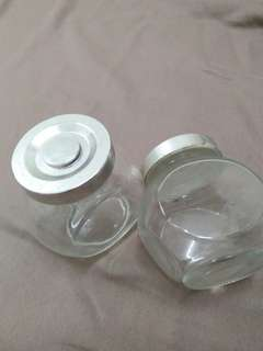 Small glass container