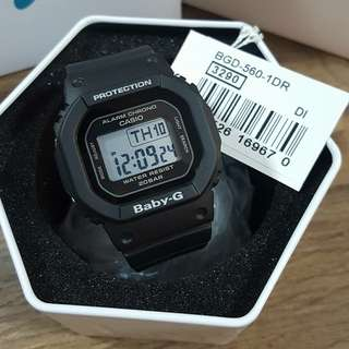 Casio Baby G BGD-560-1DR black
