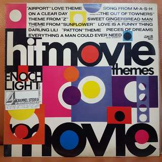 Hit Movie Themes Vinyl Record