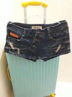 【出清】牛仔 短褲 類褲裙