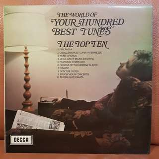 Classical》The World If Your 100 Best Tunes vinyl record