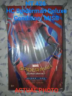 Sale Hot Toys MMs426 HC Spiderman Deluxe