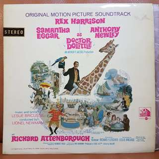 Doctor Doolittle OST Vinyl Record
