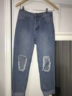 Pretty Little Thing Mom Jeans