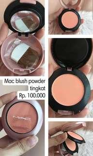 Mac blush powder tingkat