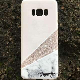 custom case - marble