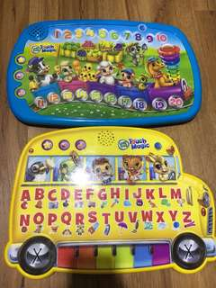 Leap frog magic touch