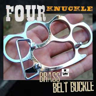 Four knuckle belt