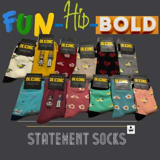Ok iconic socks