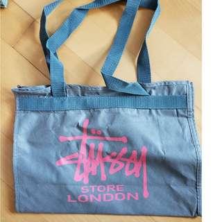 英國 倫敦Stussy 2002年版雜誌附錄袋