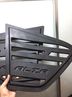Cover window alza