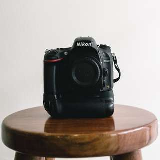 Nikon D600 + Meike Battery Grip