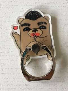 麻甩熊 啜啖先 手機指環