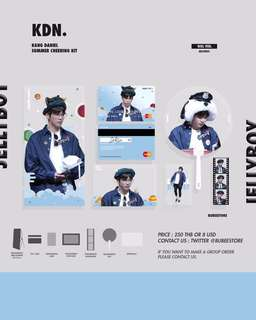 [PREORDER] WANNA ONE SUMMER CHEERING KIT BY BUBEESTORE