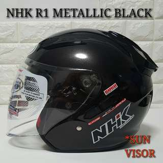 Nhk R1 METALLIC BLACK