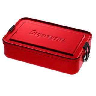 Supreme ss18 SIGG Metal Box Plus Small Size