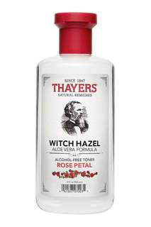 Thayers rose petal with witch hazel