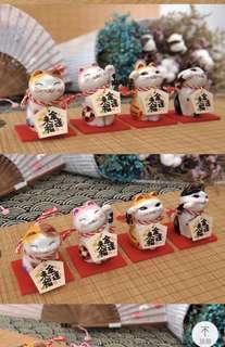 Fortune cat jsgf a pair (2 pcs) Sc9009 sc9010