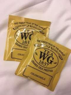 [包郵] 4 pcs Tea WG 1837 Chamomile Tea Bag