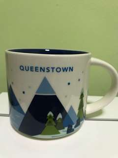 Starbucks Mug You Are Here design (Queenstown)