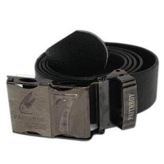 Men's belt made from rubber like materila