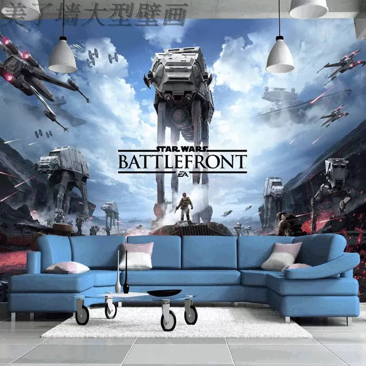 Customised Stars Wars 3d Wallpaper Furniture Home Decor Others On Carousell