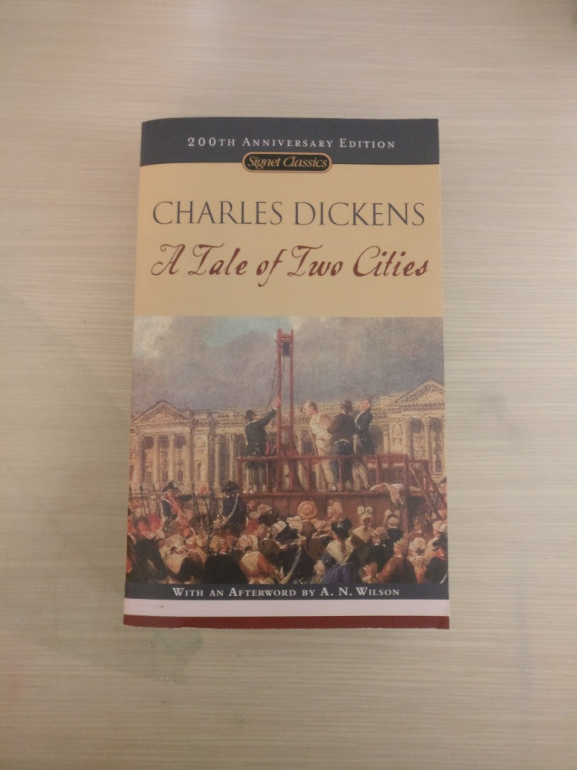 an analysis of freedom in a tale of two cities a novel by charles dickens Charles dickens's a tale of two cities (1859): historical fiction in aspects of the novel (1927), novelist and critic e m forster defined the english novel as a fiction in prose of a certain length    not less than 50,000 words (25.