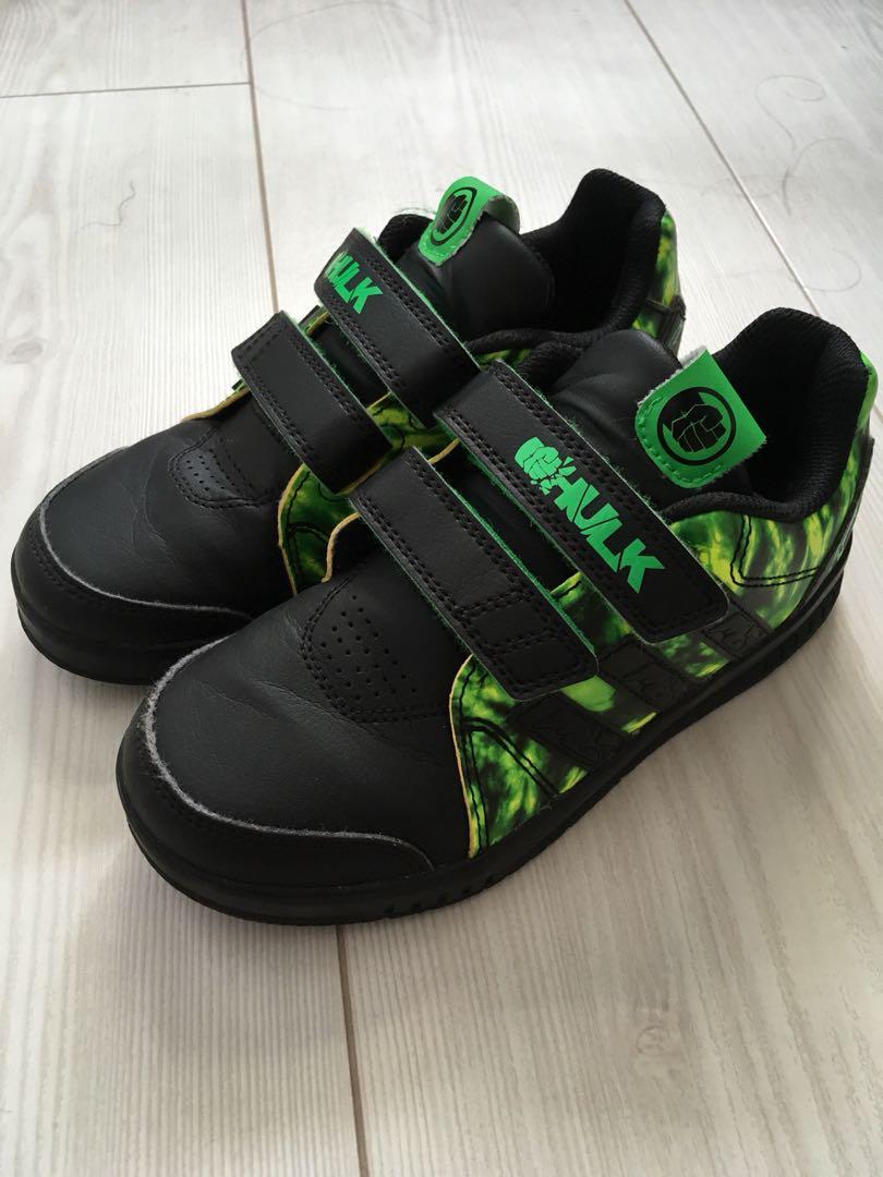 Adidas x Marvel Incredible Hulk shoes
