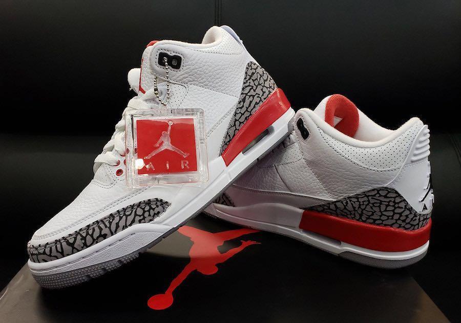 "9f64b82e6c0 Air Jordan 3 Katrina ""hall of fame"", Men's Fashion, Footwear ..."