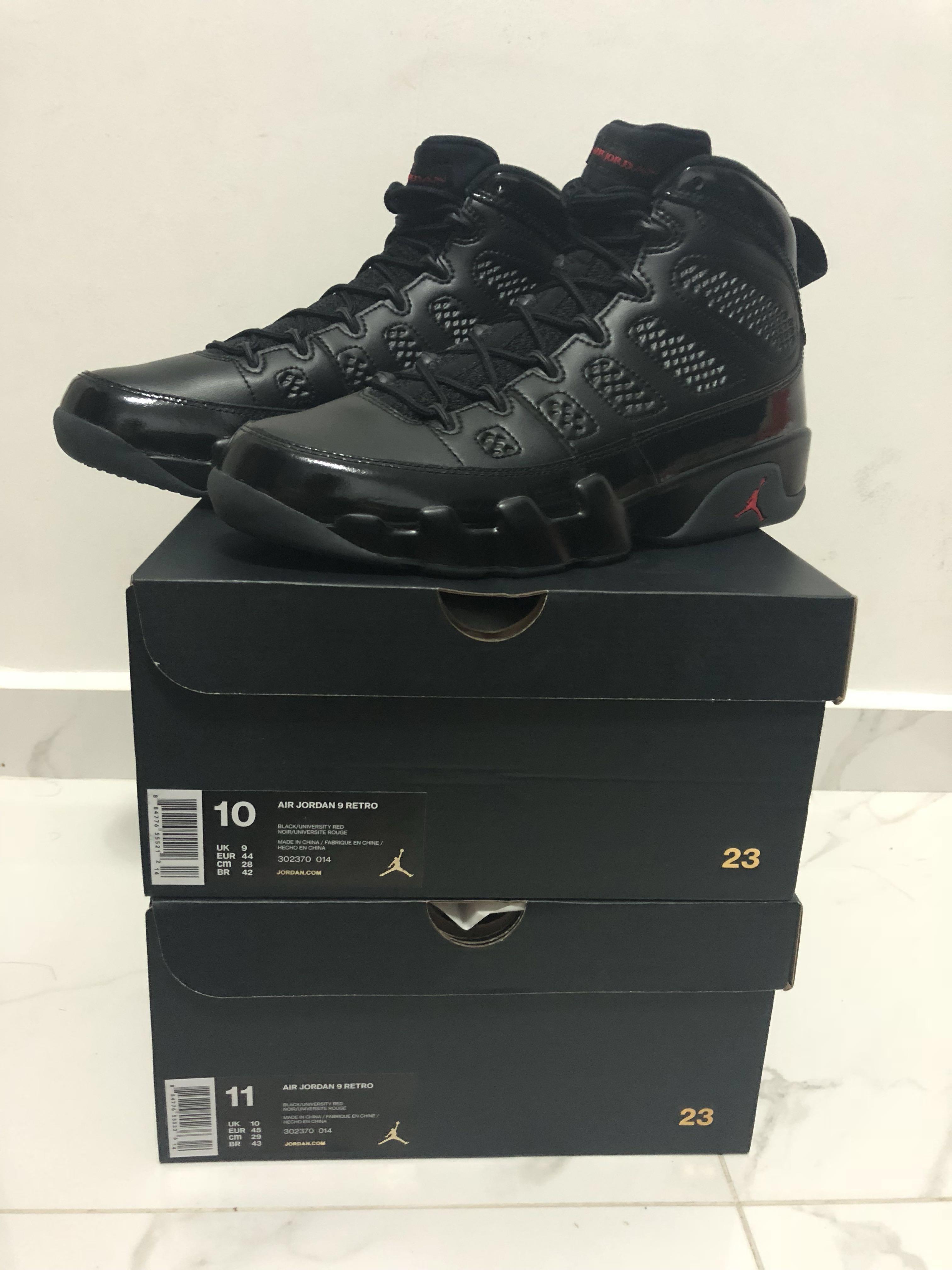 best authentic 1b425 9d364 Air Jordan 9 Bred, Men s Fashion, Footwear, Sneakers on Carousell