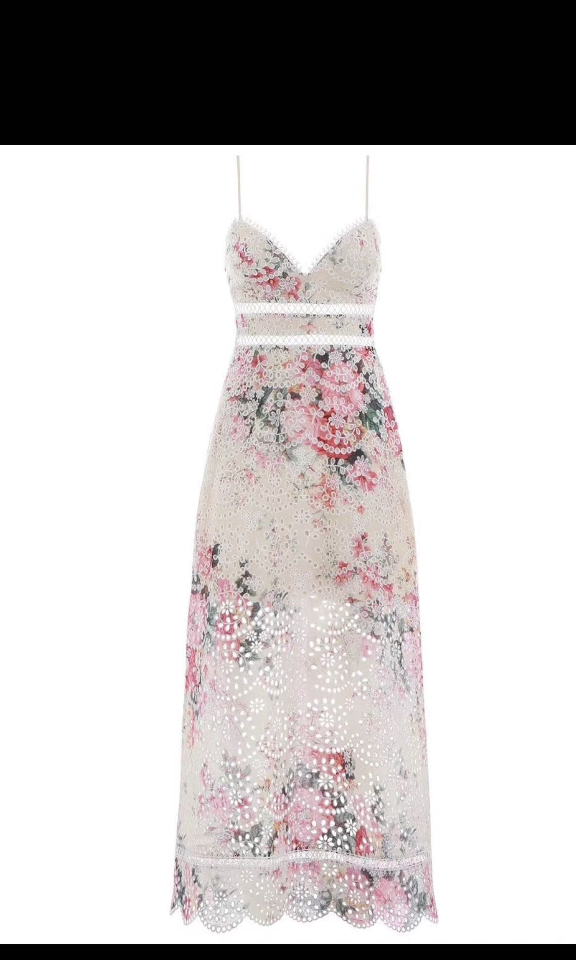 e8d2be2bafc69 BNWT Authentic ZIMMERMANN Laelia Diamond Bralette Dress