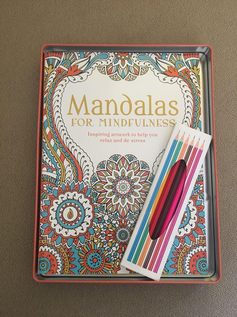 Buku Mewarnai Dewasa Mandalas For Mindfulness Books