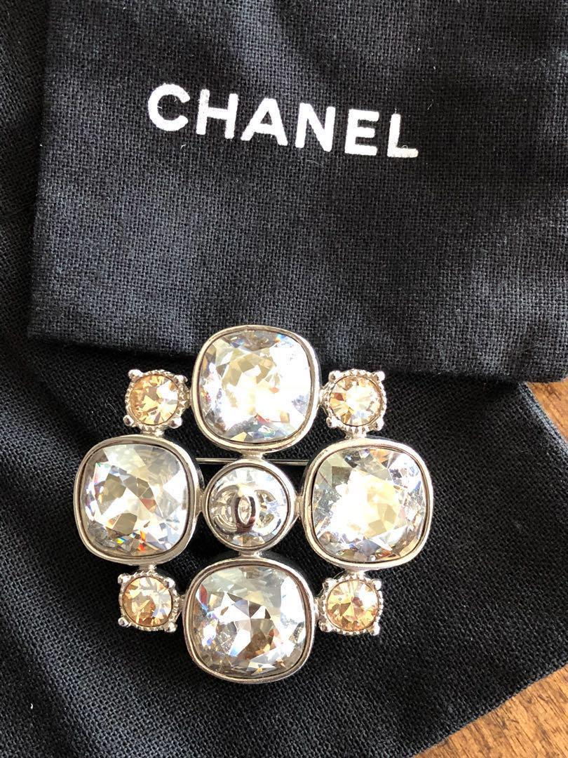 Chanel Brooch, Luxury, Accessories on Carousell