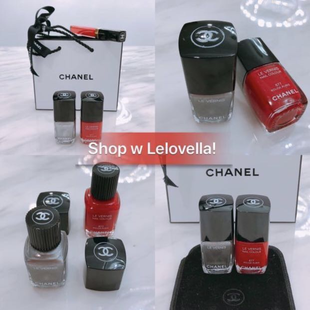 Chanel Red Nail Polish, Health & Beauty, Hand & Foot Care on Carousell