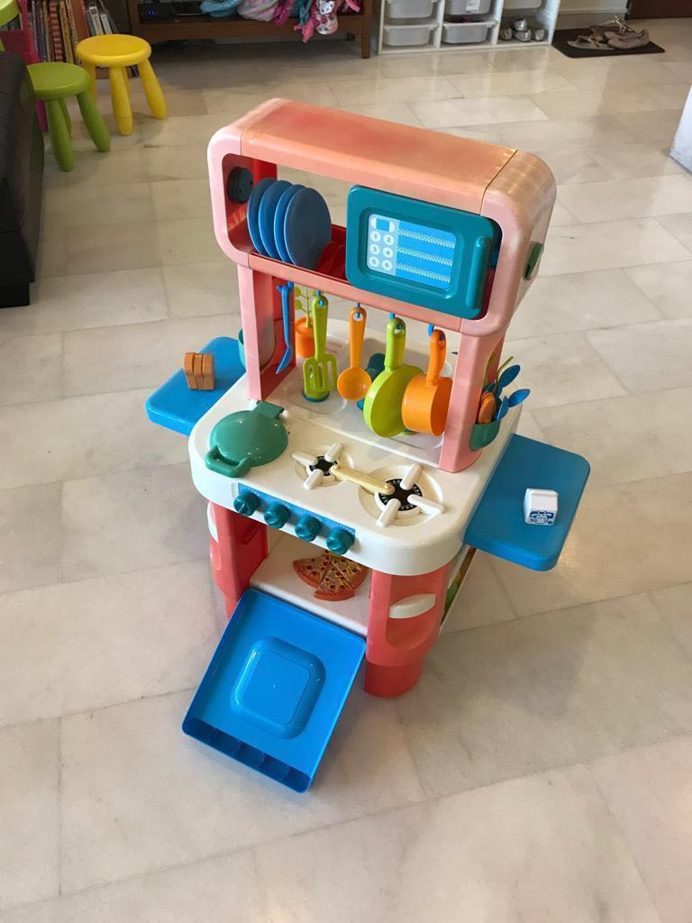 Early Learning Center Elc Little Cooks Kitchen Play Set Babies Kids Toys Walkers On Carousell