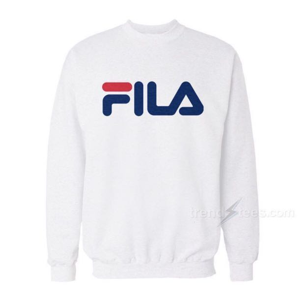 b7e937c2c491 Fila Sweatshirt Authentic, Men's Fashion, Clothes, Tops on Carousell