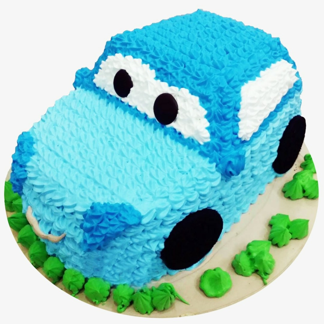 Handsome Cool Car Cake Food Drinks Baked Goods On Carousell