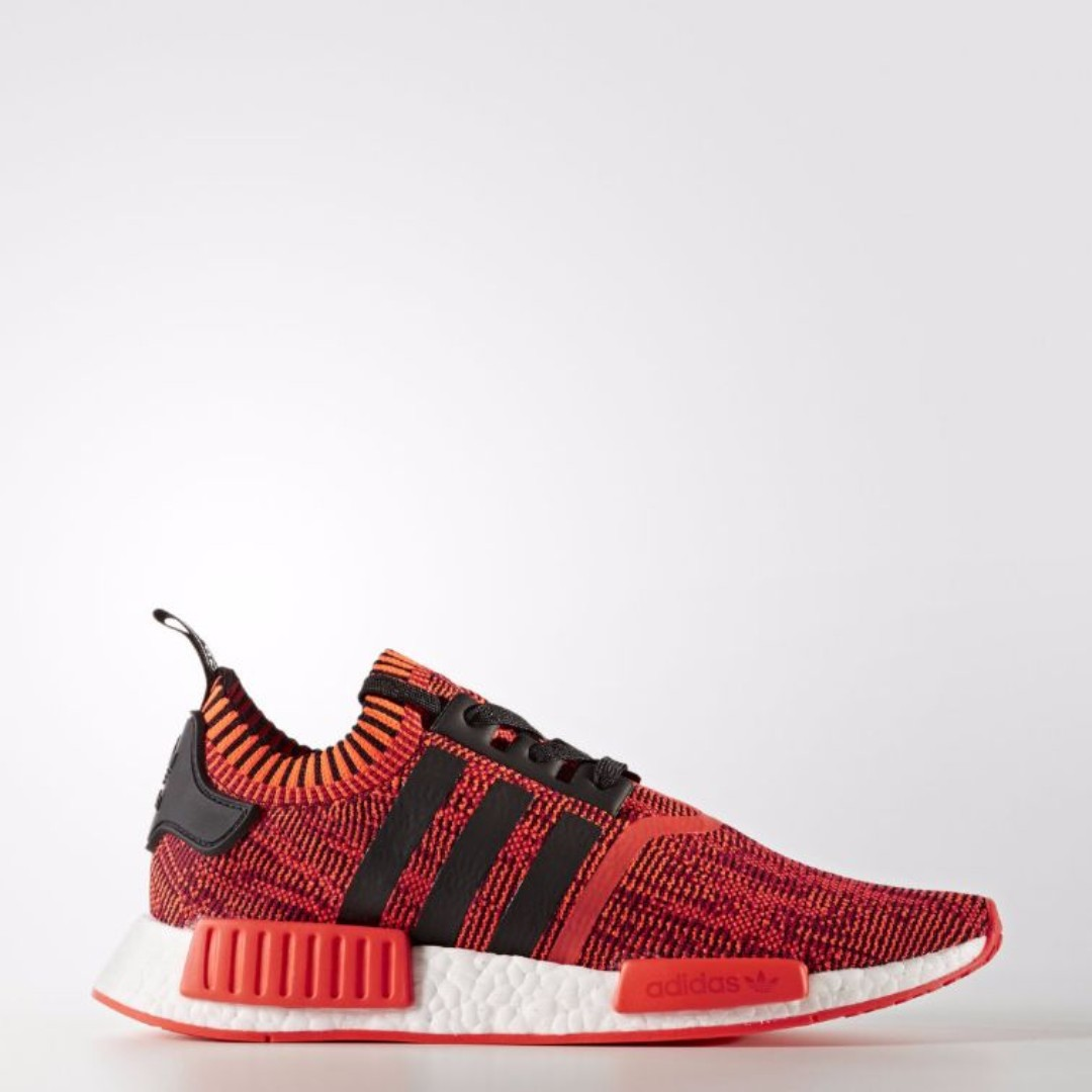 reputable site d2879 2f1de 🔥In Stock🔥 UK9.5  10.5 NMD R1 PK AI Red Apple 2.0, Mens Fa