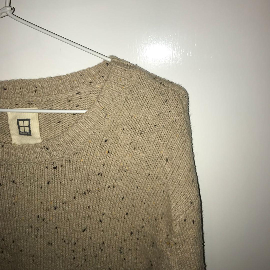Insight Oatmeal Knit Sweater