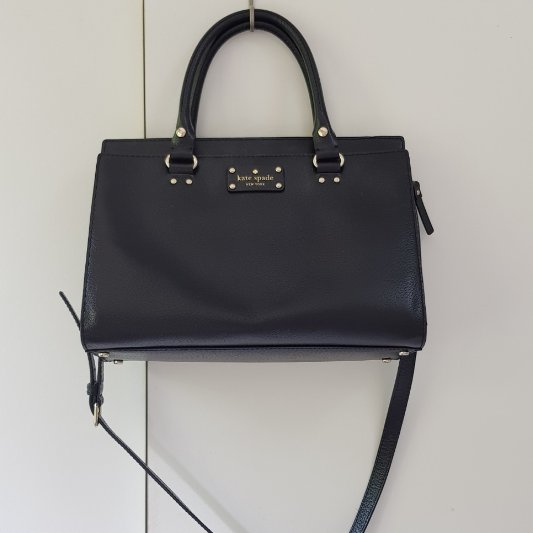 bfd45a91745ae9 Authentic Kate Spade Wellesley Durham Black Tote, Women's Fashion ...